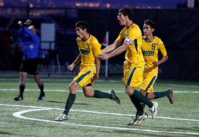 Los Alamos vs Belen boys State Soccer Championship game at the APS Soccer Complex on Nov. 6, 2010.             Luis Sanchez Saturno/ The New Mexican.
