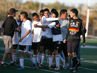 Santa Fe High at Capital on Saturday, October 22, 2011.  Capital won 2-0. Photos by Jane Phillips/The New Mexican