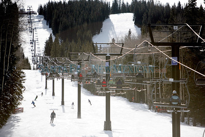Opening day at Ski Santa Fe on Dec. 11, 2009. The mountain opened with 85% of the lower mountain. The top half could open if the next storm is as big as the previous one. Lift tickets are at a discount rate. $45 adult, $40 teen, $35 senior and child and $34 half day.             Luis Sanchez Saturno/ The New Mexican