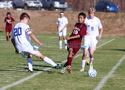 Rehoboth at St. Michael's on Friday, October 28, 2011. St. Michael's won 5-3. Photos by jane Phillips/The New Mexican