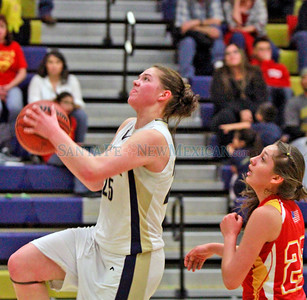 Española Valley at Santa Fe High at the Toby Roybal Gymnasium on Tuesday, January 22, 2013.  Jane Phillips/The New Mexican